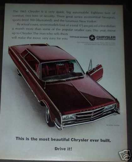 Chrysler 300 4 Door Car Photo (1965)