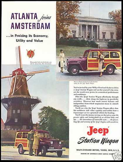 Jeep Station Wagon Netherlands Atlanta (1949)