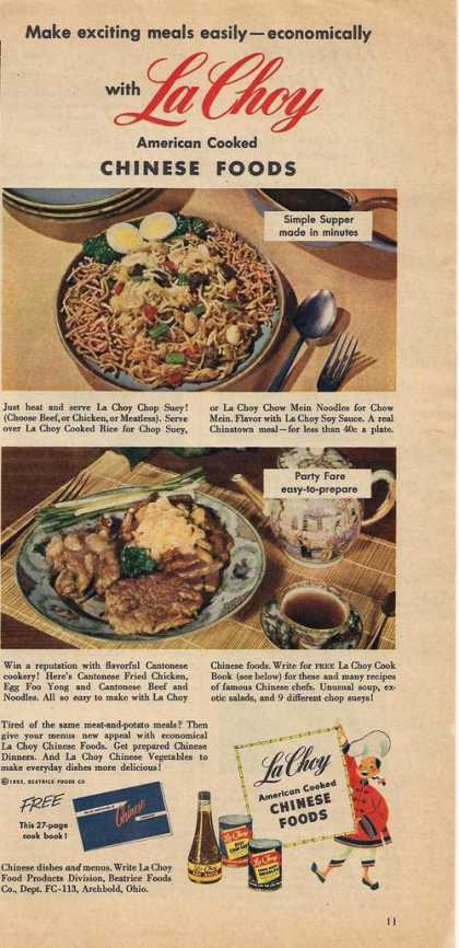 La Choy Chinese Food (1953)