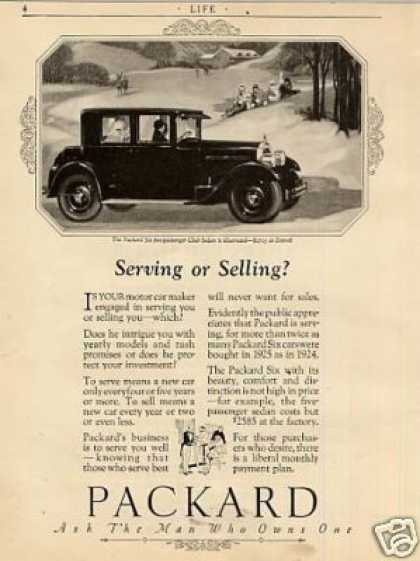 Packard Club Sedan (1926)