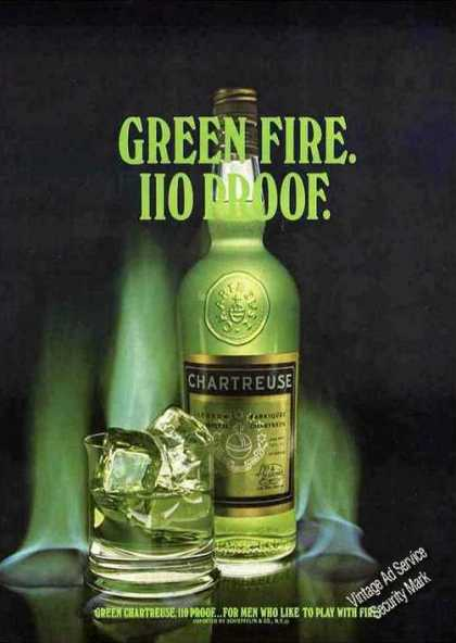 Chartreuse Green Fire for Men Who Like To Play (1973)