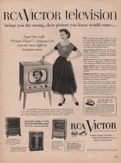 Rca Victor Television Super Sets (1951)