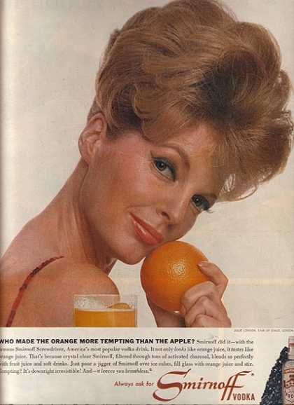 Julie London – Smirnoff (1964)