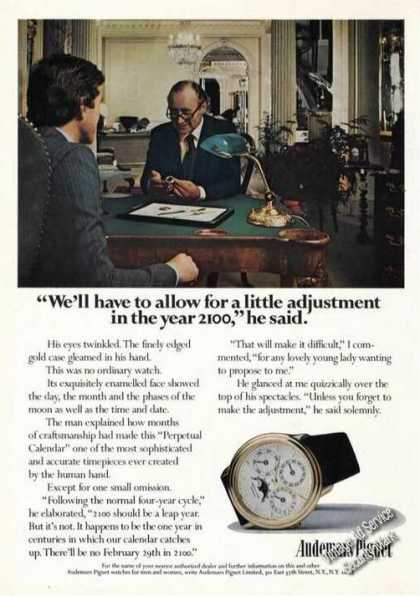 Audemars Piguet Wristwatches Rare (1978)
