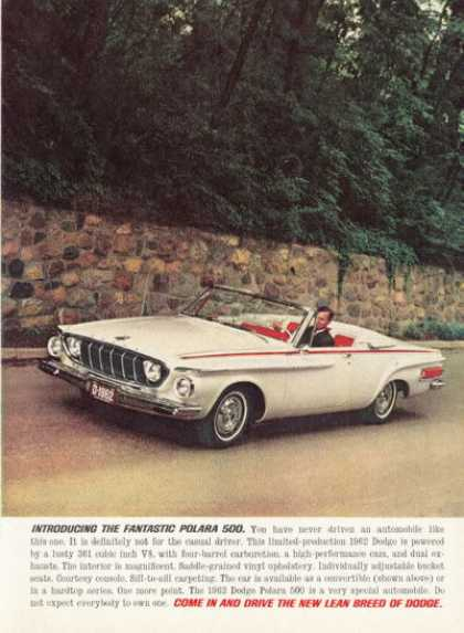 Dodge Polara 500 Rare Convertible (1962)