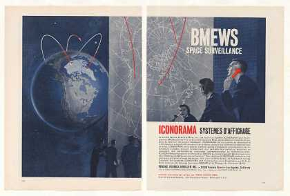 Iconorama BMEWS Space Surveillance 2-Pg French (1960)