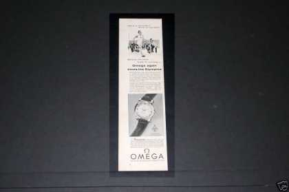 Omega Seamaster, Olympic Watch (1956)