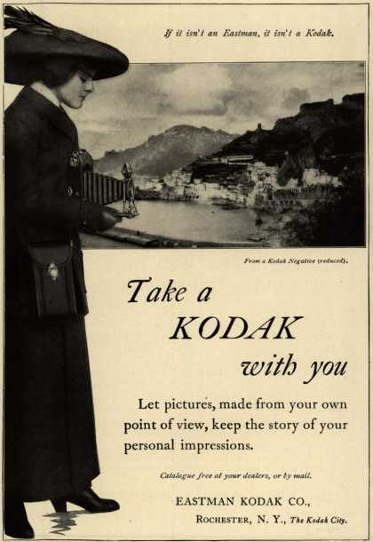 Kodak – Take a Kodak with you (1913)