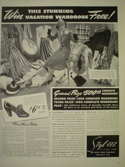 Style Eez Womens Clothing Win $500 complete wardrobe (1940)