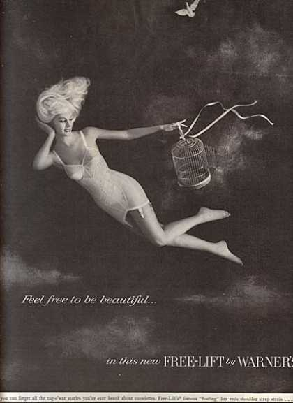 Warner's Free-Lift Corselette (1960)