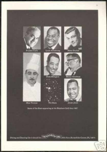 Duke Ellington Benny Goodman Rainbow Grill NY (1967)