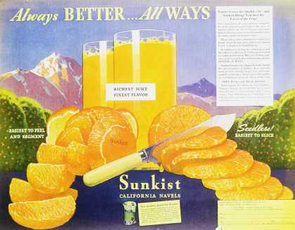 Sunkist California Navels