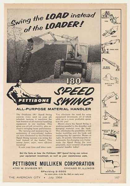 Pettibone Mulliken 180 Speed Swing Loader (1964)