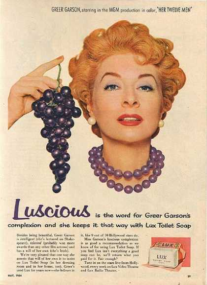 Lux Toilet Soap – Greer Garson (1954)