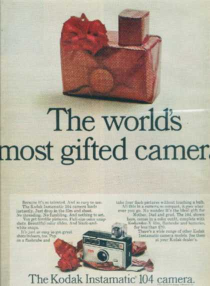 "Kodak's ""The world's most gifted camera"" (1967)"