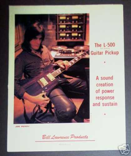 Joe Perry Photo L-500 Guitar Pickup (1981)