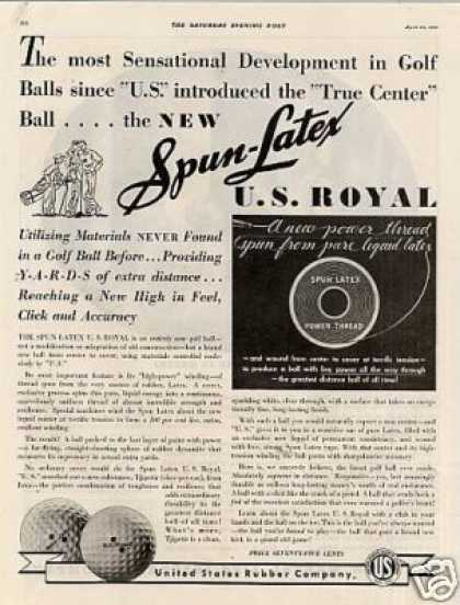 U.s. Royal Golf Balls (1935)