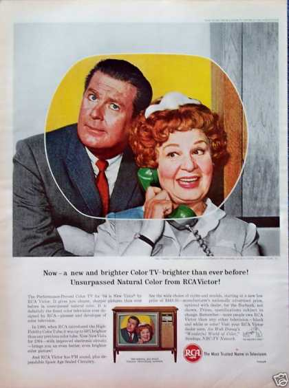 RCA Television Hazel Shirley Booth Don Defore (1964)