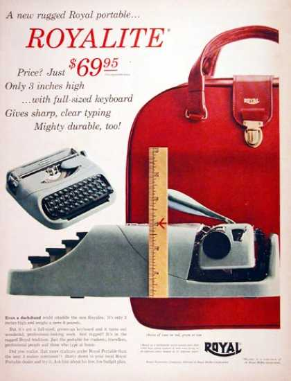 Royal Portable Typewriter #2 (1956)