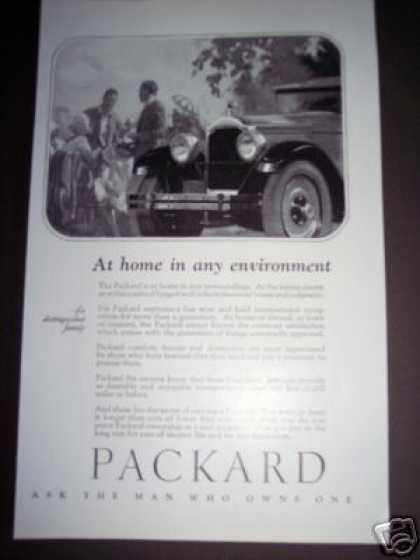 Packard Car Automobile Deco (1926)