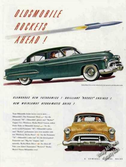 Oldsmobile Rockets Ahead! Car (1950)