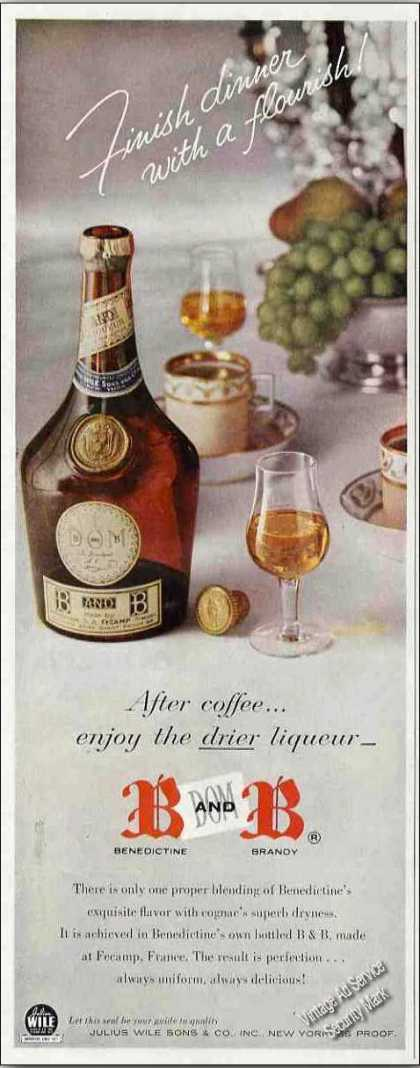 B and B Benedictine & Brandy (1957)
