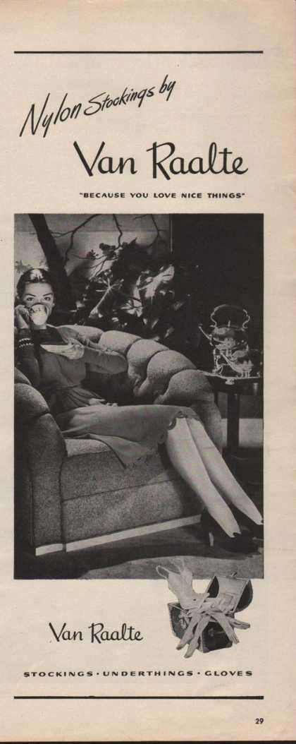 Van Raalte Nylon Stockings (1942)