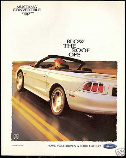 Ford Mustang Convertible Car Photo (1997)