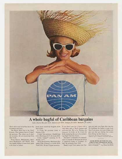 Pan Am Airlines Bag of Caribbean Bargains (1964)