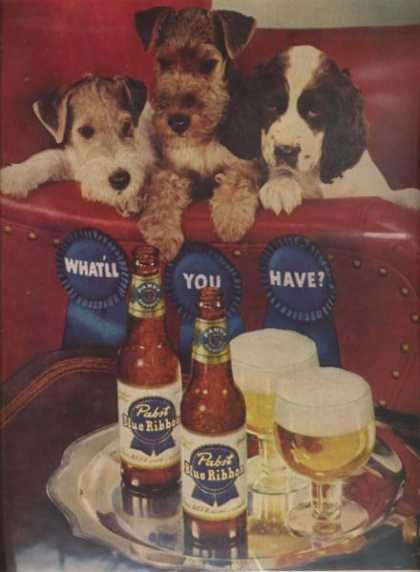 Pabst Blue Ribbon (1951)