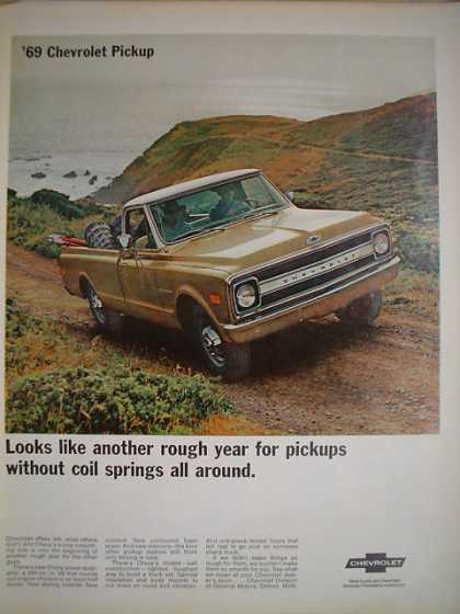 1969 Chevrolet Chevy Pickup Truck AND Zippo Lighters (1968)