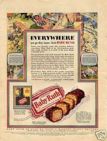 Curtiss Baby Ruth Candy Color (1928)