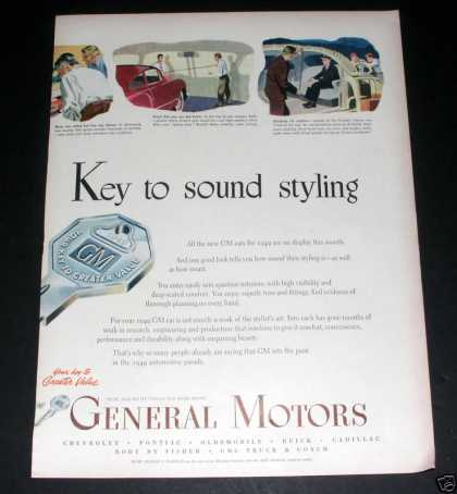 General Motors , Sound Styling, Exc (1949)