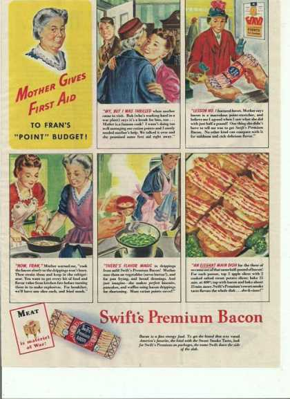 Swifts Premium Bacon (1944)