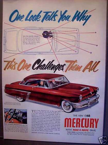 Ford Mercury Car Auto (1952)