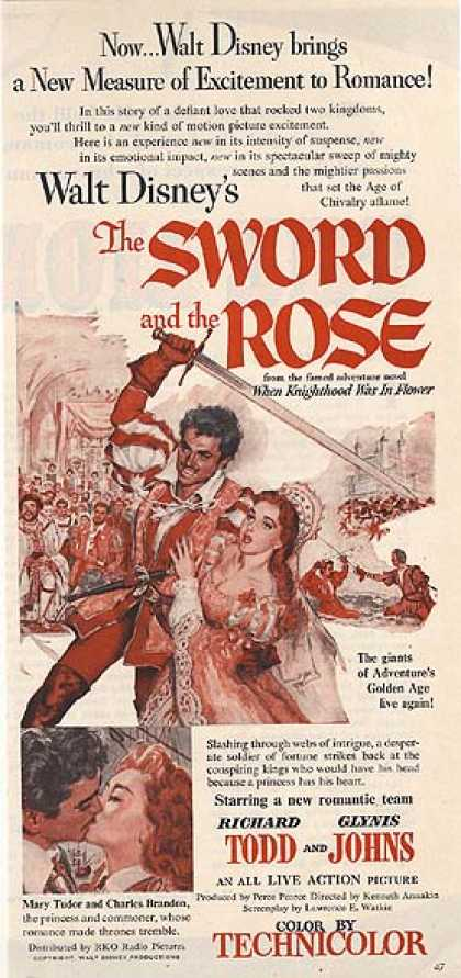 The Sword and the Rose (Walt Disney) (1953)