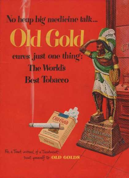 Old Gold Cigarette Worlds Best (1949)