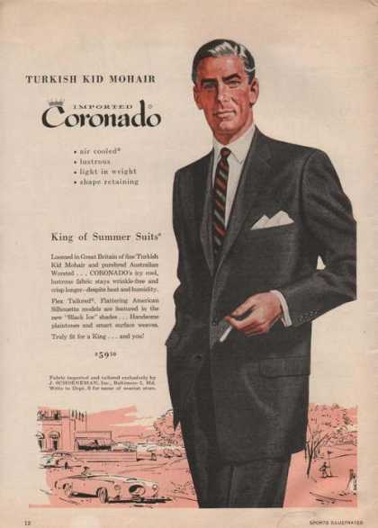 Coronado King of Summer Mens Suit (1955)