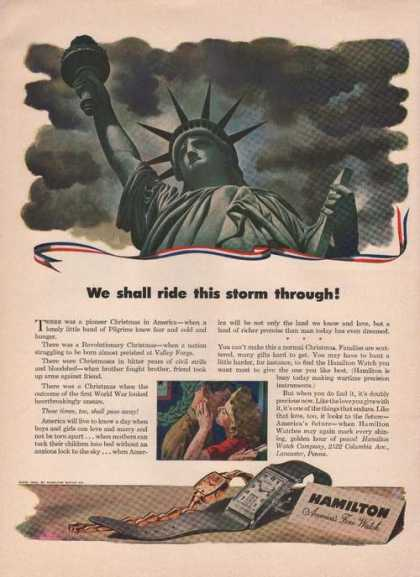 Hamilton Watch Ride Storm Through (1942)