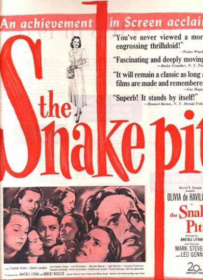 The Snake Pit (Olivia de Havilland) (1949)