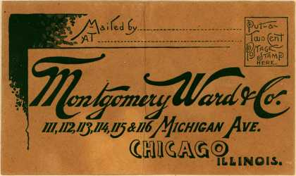 Montgomery Ward & Co.'s Montgomery Ward – Keep These Thoughts in Front of You