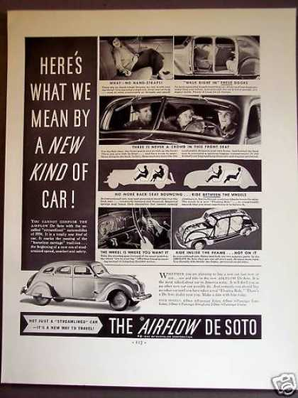 Airflow De Soto Automobile Car (1934)