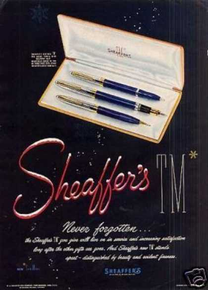 Sheaffer's Pen (1951)