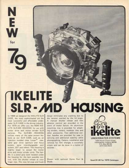 Ikelite Underwater System Slr Camera Md Housing (1979)
