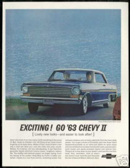 Chevrolet Chevy II Nova SS Photo Vintage Car (1963)