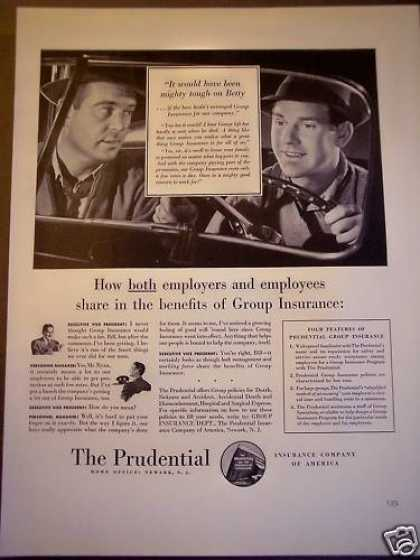 Prudential Group Insurance (1940)