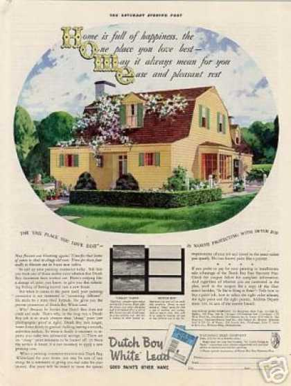 Dutch Boy Paint (1938)