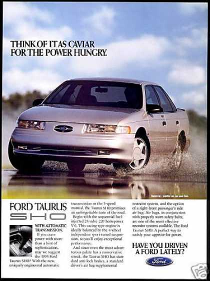 Ford Taurus SHO Car Photo (1993)