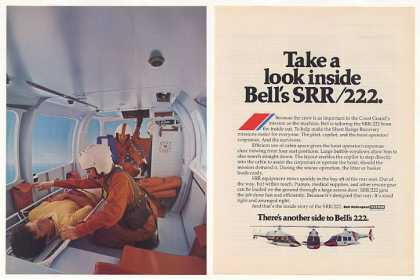 Coast Guard Bell SRR 222 Helicopter Inside (1977)