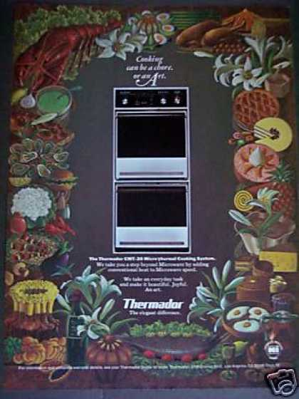 Thermador Micro Thermal Cooking System Art (1979)